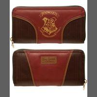Imagen de Harry Potter Gold Hogwarts Crest Juniors Zip Wallet