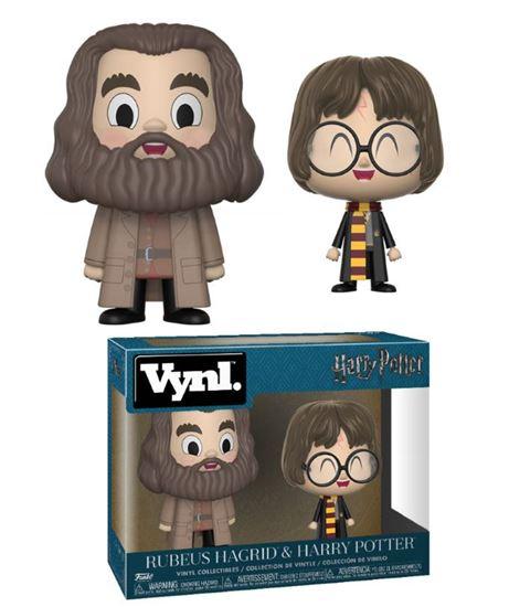 Foto de Harry Potter Pack de 2 VYNL Vinyl Figuras Hagrid & Harry 10 cm