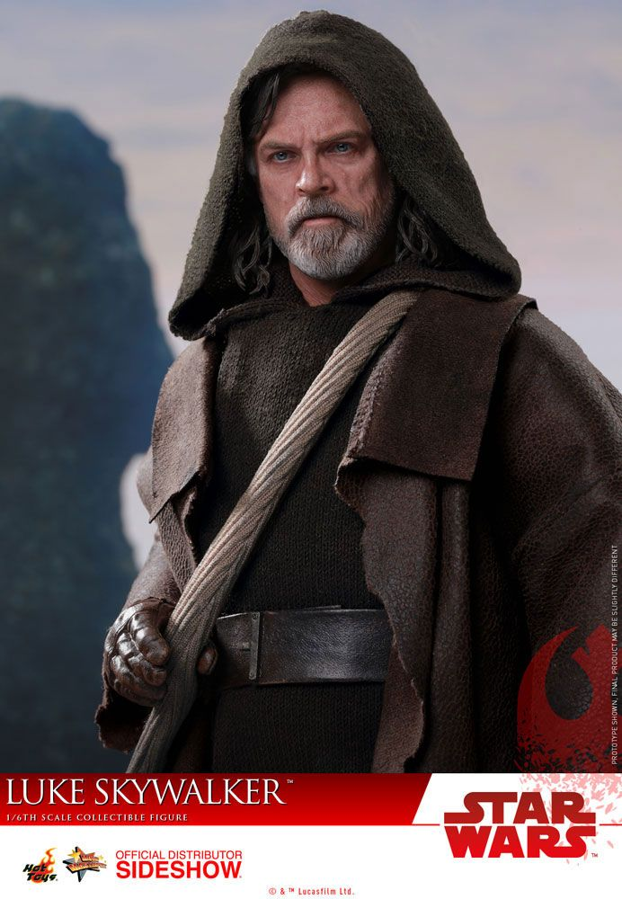 Imagen de Star Wars Episodio VIII Figura Movie Masterpiece 1/6 Luke Skywalker 29 cm