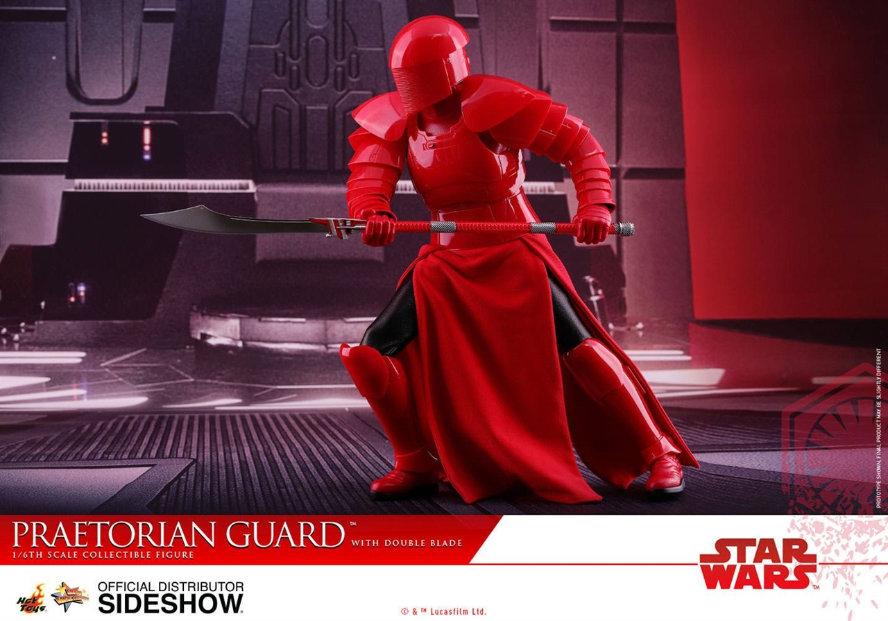 Imagen de Star Wars Episode VIII Figura Movie Masterpiece 1/6 Praetorian Guard with Double Blade 30 cm