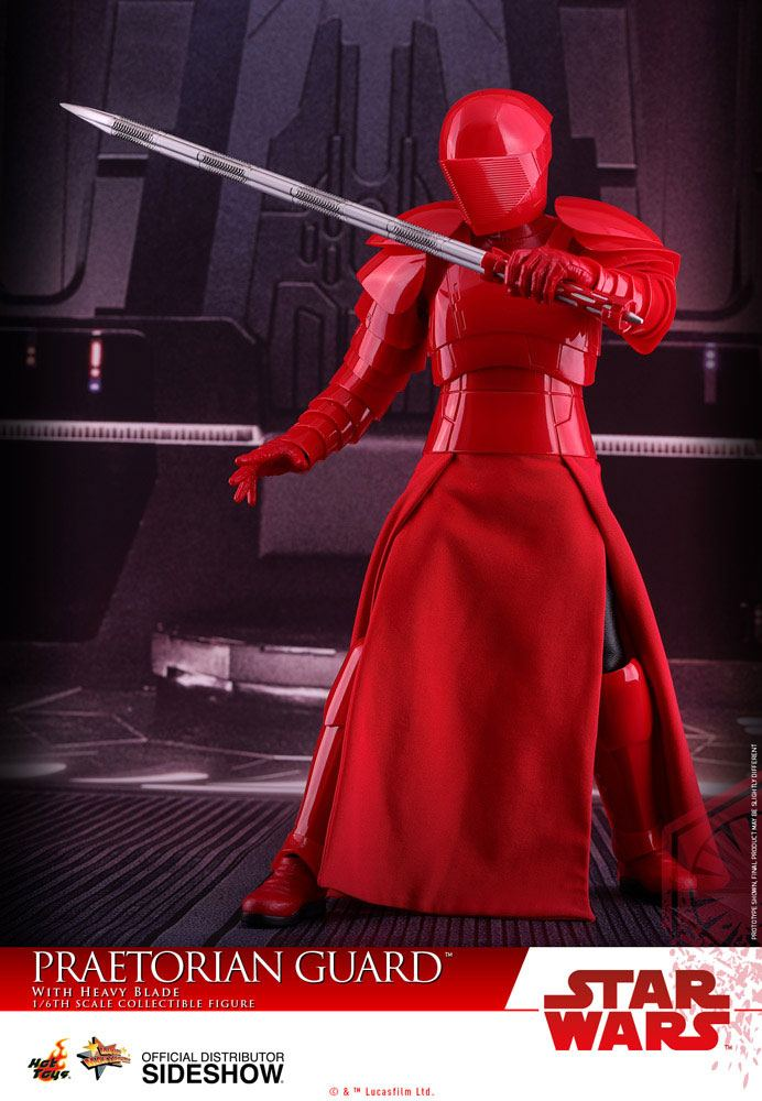 Imagen de Star Wars Episode VIII Figura Movie Masterpiece 1/6 Praetorian Guard with Heavy Blade 30 cm