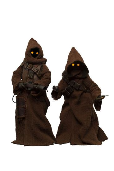Foto de Star Wars Set de 2 Figuras 1/6 Jawa 23 cm