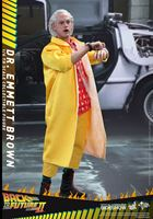 Foto de Regreso al Futuro II Figura Movie Masterpiece 1/6 Dr Emmett Brown 30 cm