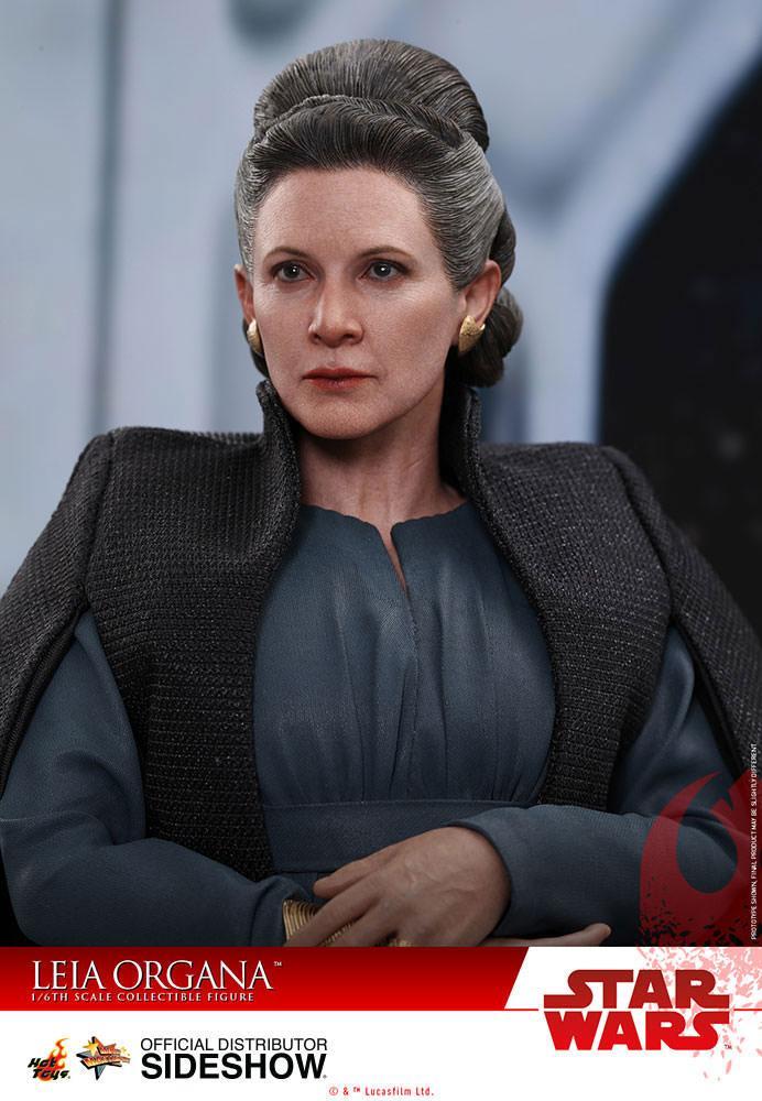 Imagen de Star Wars Episodio VIII Figura Movie Masterpiece 1/6 Leia Organa 28 cm