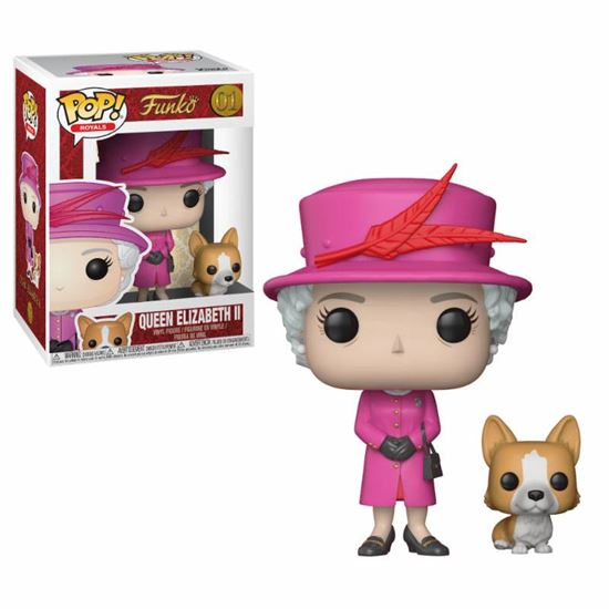Foto de Royal Family Figura POP! Vinyl Queen Elizabeth II 9 cm