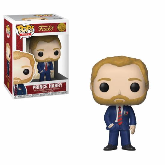 Foto de Royal Family Figura POP! Vinyl Prince Harry 9 cm