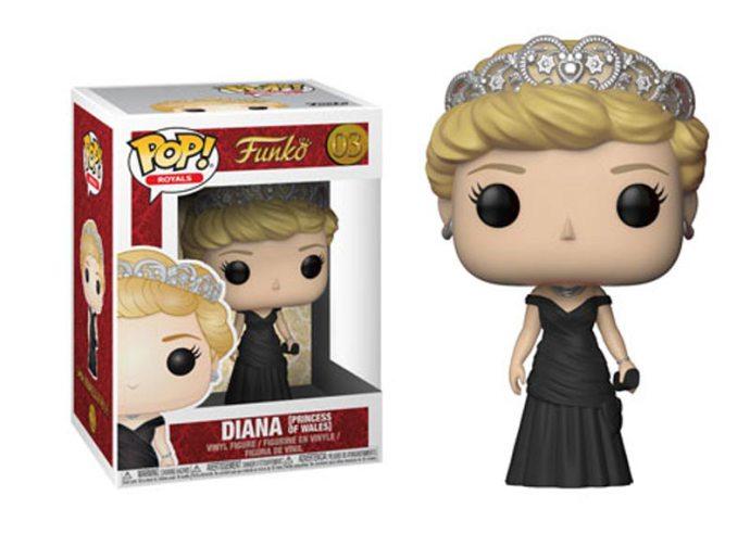 Imagen de Royal Family Figuras POP! Movies Vinyl 9 cm Princess Diana