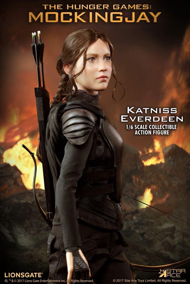 Imagen de Los juegos del hambre sinsajo Parte 1 My Favourite Movie Figura 1/6 Katniss Everdeen 30 cm