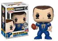 Imagen de NFL POP! Football Vinyl Figura Philip Rivers (Los Angeles Chargers) 9 cm