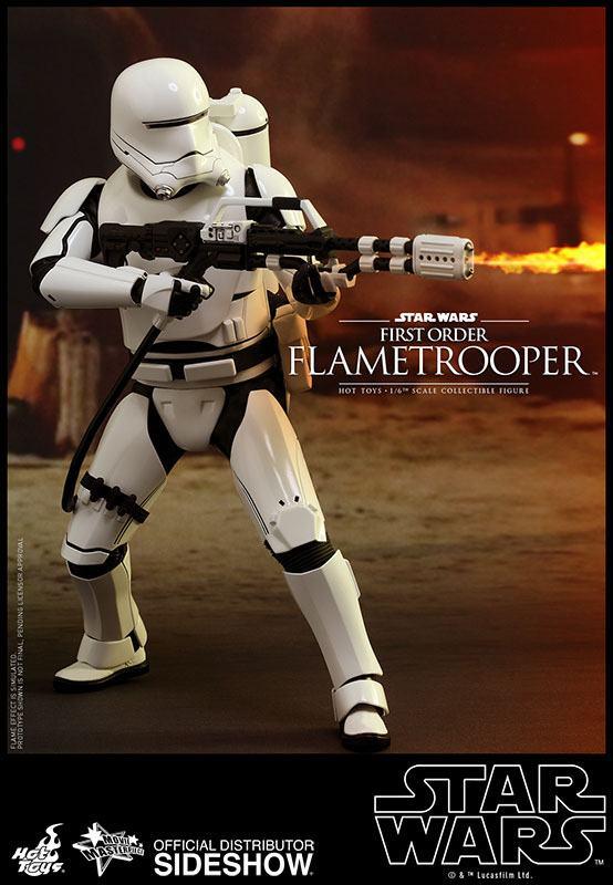 Imagen de Star Wars Episode VII Figura Movie Masterpiece 1/6 First Order Flametrooper 30 cm
