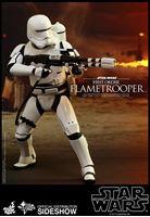 Foto de Star Wars Episode VII Figura Movie Masterpiece 1/6 First Order Flametrooper 30 cm