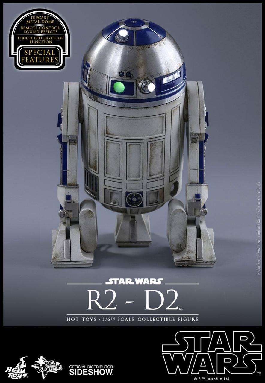 Imagen de Star Wars Episode VII Figura Movie Masterpiece 1/6 R2-D2 18 cm