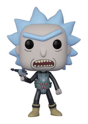 Imagen de Rick y Morty POP! Animation Vinyl Figura Prison Escape Rick 9 cm
