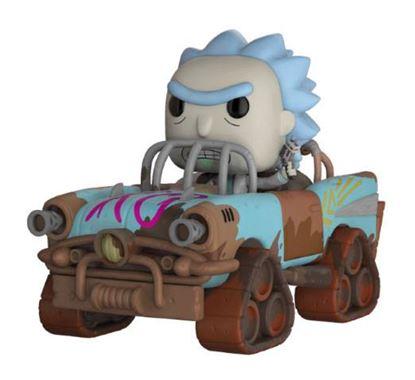 Imagen de Rick y Morty POP! Rides Vinyl Figura Mad Max Rick 15 cm