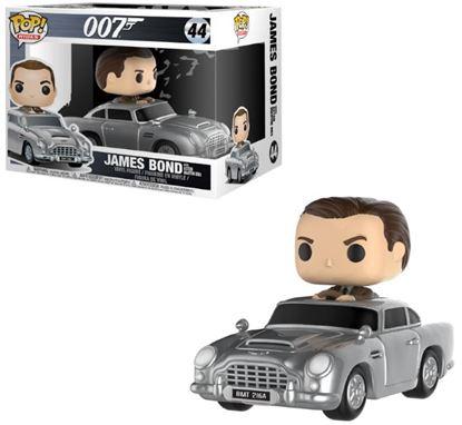 Imagen de James Bond POP! Rides Vinyl Vehículo con Figura Sean Connery & Aston Martin 15 cm