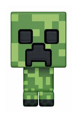 Imagen de Minecraft Figura POP! Games Vinyl Creeper 9 cm
