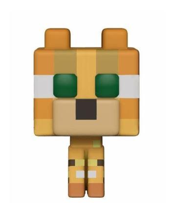 Imagen de Minecraft Figuras POP! Games Vinyl 9 cm Ocelot