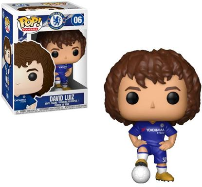 Imagen de EPL POP! Football Vinyl Figura David Luiz (Chelsea) 9 cm