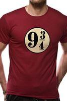 Imagen de Harry Potter Camiseta Unisex Andén 9 3/4 Talla L