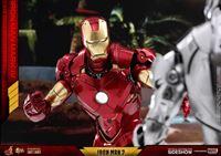 Foto de Iron Man 2 Figura Diecast Movie Masterpiece 1/6 Iron Man Mark IV 32 cm
