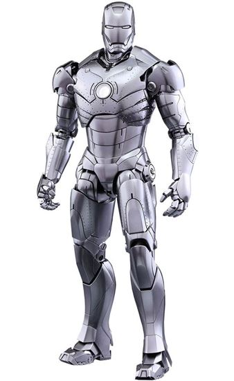 Foto de Iron Man 2 Figura Diecast Movie Masterpiece 1/6 Iron Man Mark II 31 cm