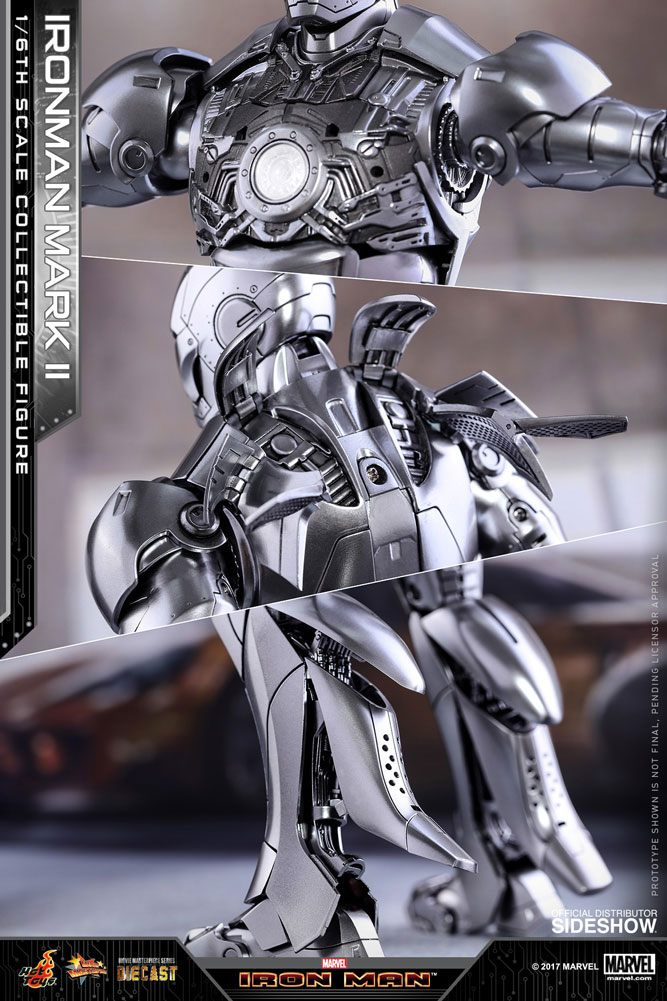 Imagen de Iron Man 2 Figura Diecast Movie Masterpiece 1/6 Iron Man Mark II 31 cm
