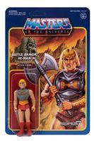 Imagen de Masters del Universo ReAction Figura Battle Armor He-Man 10 cm