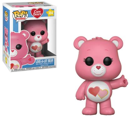 Imagen de Care Bears POP! Animation Vinyl Figura Love-A-Lot Bear 9 cm