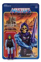 Imagen de Masters del Universo ReAction Figura Battle Armor Skeletor 10 cm