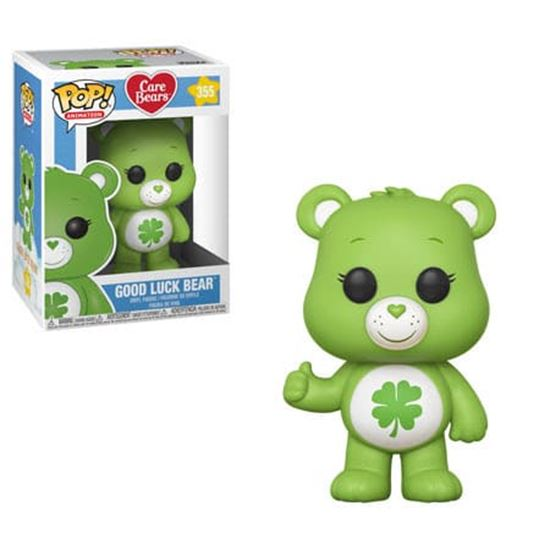 Foto de Care Bears POP! Animation Vinyl Figuren Good Luck Bear 9 cm