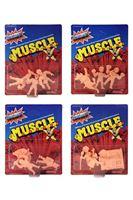 Imagen de Masters del Universo Pack de 3 Figuras MUSCLE 4 cm Wave 2