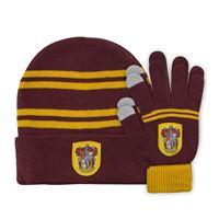 Imagen de Harry Potter Set Beanie and Gloves for Kids Gryffindor