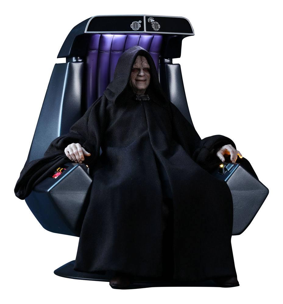 Imagen de Star Wars Episodio VI Figura Movie Masterpiece 1/6 Emperor Palpatine Deluxe Version 29 cm