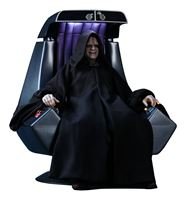 Imagen de Star Wars Episodio VI Figura Movie Masterpiece 1/6 Emperor Palpatine Deluxe Version 29 cm