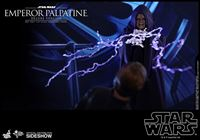 Foto de Star Wars Episodio VI Figura Movie Masterpiece 1/6 Emperor Palpatine Deluxe Version 29 cm