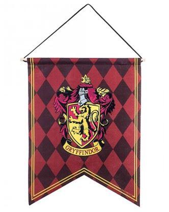 Imagen de Harry Potter Banderín Gryffindor Ajedrezado