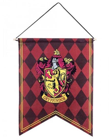Foto de Harry Potter Banderín Gryffindor Ajedrezado