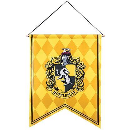 Imagen de Harry Potter Banderín Hufflepuf Ajedrezado