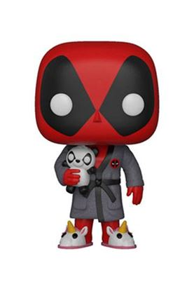 Imagen de Deadpool Parody POP! Marvel Vinyl Figura Deadpool in Robe 9 cm