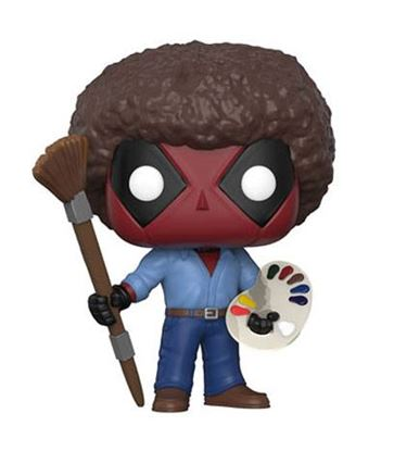 Imagen de Deadpool Parody POP! Marvel Vinyl Figura Deadpool 70s with Afro 9 cm