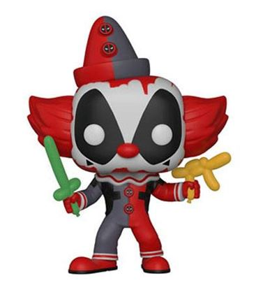 Imagen de Deadpool Parody POP! Marvel Vinyl Figura Deadpool Clown 9 cm