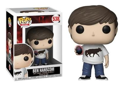 Imagen de Stephen King's It 2017 POP! Movies Vinyl Figura Ben Hanscom 9 cm.