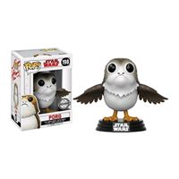 Imagen de Star Wars Episode VIII POP! Vinyl Cabezón Porg Open Wings Exclusive 9 cm