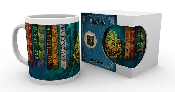 Imagen de Harry Potter Taza House Flags