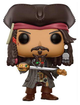 Imagen de Piratas del Caribe La Venganza de Salazar POP! Movies Vinyl Figura Jack Sparrow 9 cm