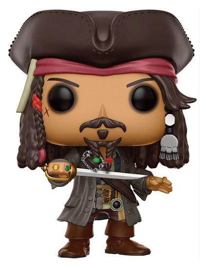 Foto de Piratas del Caribe La Venganza de Salazar POP! Movies Vinyl Figura Jack Sparrow 9 cm