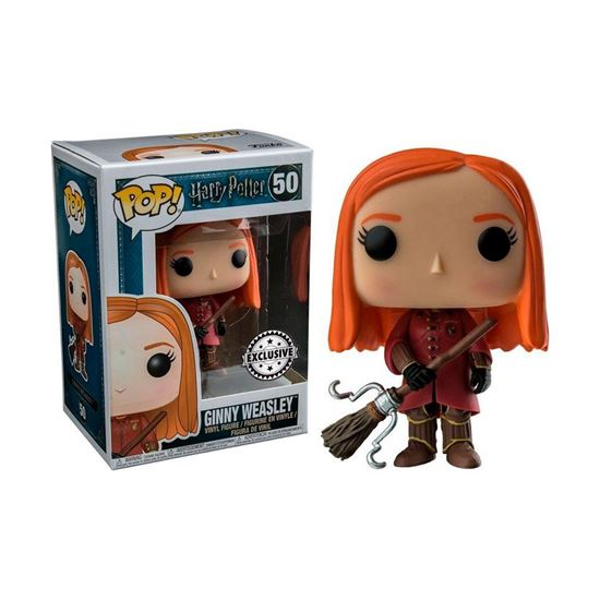 Foto de Harry Potter POP! Movies Vinyl Figura Ginny Quidditch 9 cm
