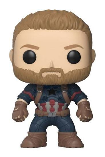 Foto de Avengers Infinity War Figura POP! Movies Vinyl Captain America 9 cm