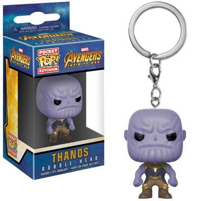 Imagen de Avengers Infinity War Llavero Pocket POP! Vinyl Thanos 4 cm