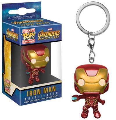 Imagen de Avengers Infinity War Llavero Pocket POP! Vinyl Iron Man 4 cm